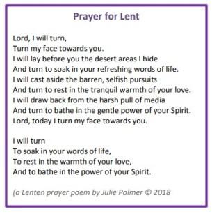 PrayerforLent2019